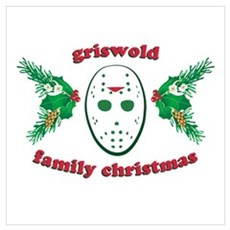 Griswold Family Christmas Wall Art Poster