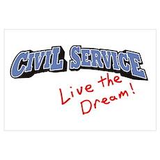 Civil Service - LTD Wall Art Poster