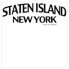 Staten Island Wall Art Poster
