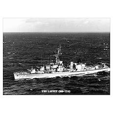 USS LAFFEY Wall Art Poster