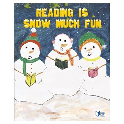 Small RIF Snowmen Poster Poster