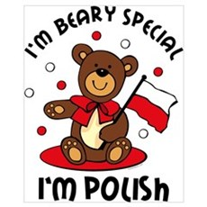 Beary Special Polish Wall Art Poster