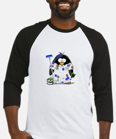 Painter Penguin Baseball Jersey