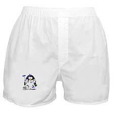 Painter Penguin Boxer Shorts