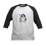 Painter Penguin Kids Baseball Jersey
