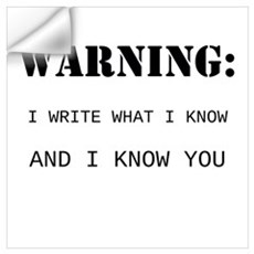 Write What You Know Wall Art Wall Decal