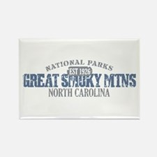 Great Smoky Mountains NC Rectangle Magnet