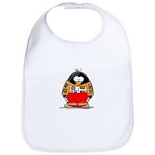 Auto Racing Penguin Bib