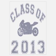 Class Of 2013 Superbike Wall Art