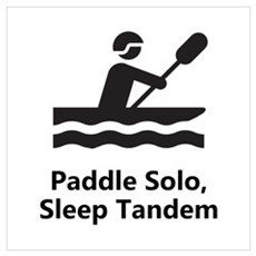 Solo Paddle Wall Art Canvas Art
