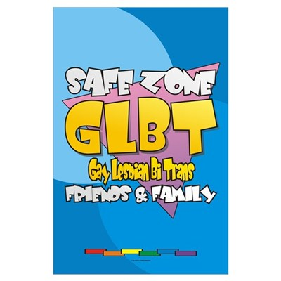 Safe Zone 11x17 Poster - English Poster