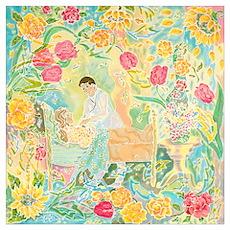 """""""A Healing Place"""" (TM) Wall Art Poster"""