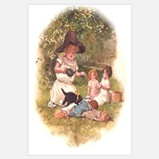 Doll Tea Party Wall Art
