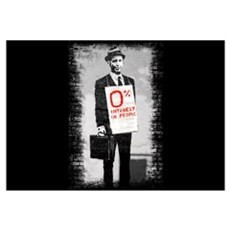 0% INTEREST (in people) Wall Art Canvas Art