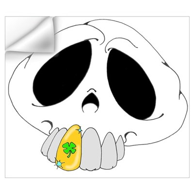 Skull Tooth Wall Art Wall Decal