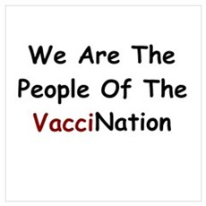 People Of VacciNation Wall Art Poster