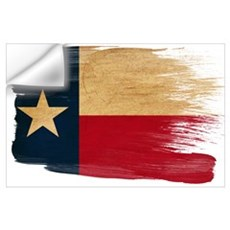 Texas Flag Wall Art Wall Decal