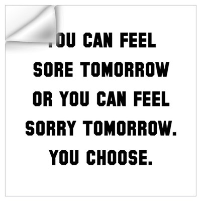 Sore Or Sorry Wall Art Wall Decal