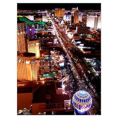 Las Vegas Strip Wall Art Poster