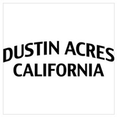 Dustin Acres California Wall Art Poster
