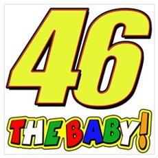 VR46baby Wall Art Poster