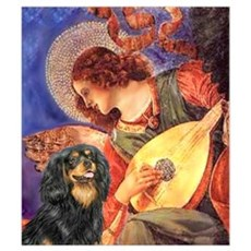Mandolin Angel / Cavalier (BT Wall Art Framed Print