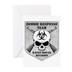 Zombie Response Team: Baton Rouge Division Greetin