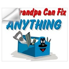 Fix Anything Grandpa Wall Art Wall Decal