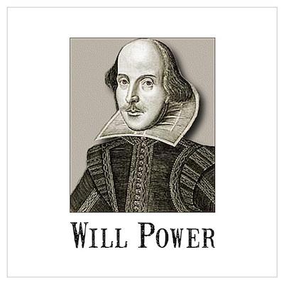 Will Power Wall Art Poster