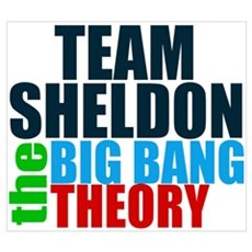 Team Sheldon Wall Art Framed Print