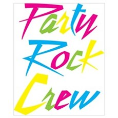 Party Rock Wall Art Poster