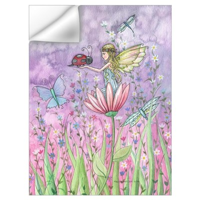 Cute Little Fairy Wall Art Wall Decal