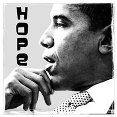 Obama Hope 2 Wall Art Poster