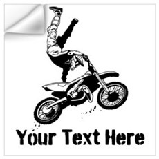 Motocross Wall Art Wall Decal