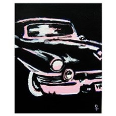 Classic Car Wall Art Poster