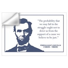 Lincoln / Struggle Wall Art Wall Decal