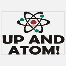 Up and Atom Wall Art