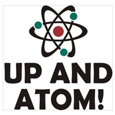 Up and Atom Wall Art Poster