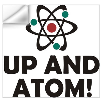 Up And Atom Wall Art Wall Decal