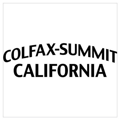 Colfax-Summit California Wall Art Framed Print