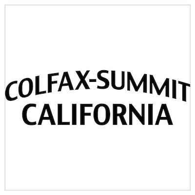 Colfax-Summit California Wall Art Poster