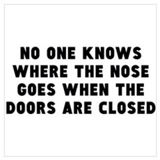 WHO NOSE Wall Art Poster