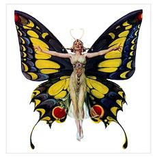 Queen of the Fairies Wall Art Poster