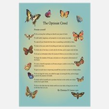 Optimist Creed Poster
