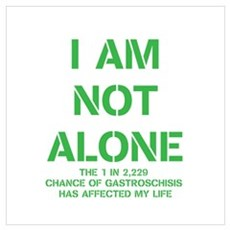 I am not alone! Wall Art Poster