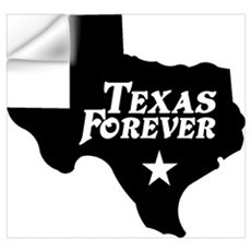 Texas Forever (Black - Cutout Ltrs) Wall Art Wall Decal