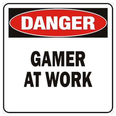 Gamer Wall Art Poster