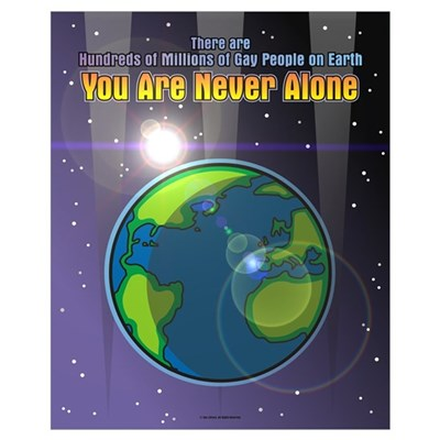 Never Alone 16x20 Poster Poster