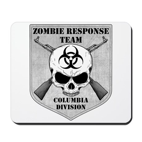 Zombie Response Team: Columbia Division Mousepad