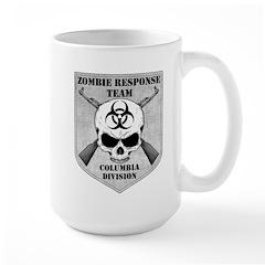 Zombie Response Team: Columbia Division Large Mug